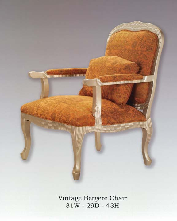 invtage bergere chair
